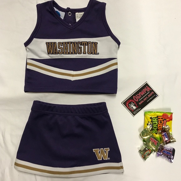Texas Longhorns 3 Piece Cheerleader Outfit Infant Baby Girls Size 12 Months NWT